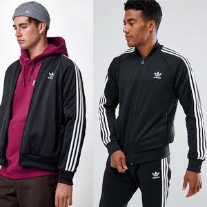 •Adidas• Originals Superstar Track Bomber Jacket